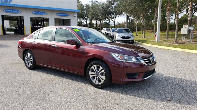Pre Owned 2014 Honda Accord For Sale In Clermont Orlando Fl Ja253897a