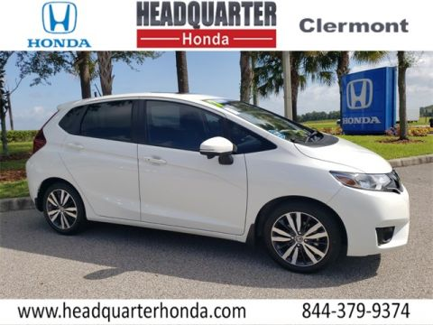 Pre-Owned 2017 Honda Fit EX-L