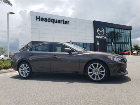 Certified Pre-Owned 2017 Mazda6 Touring CERTIFIED